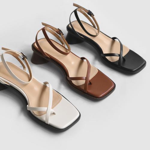 sappun-루시먼 스트랩 샌들 (3cm)♡韓國女裝鞋