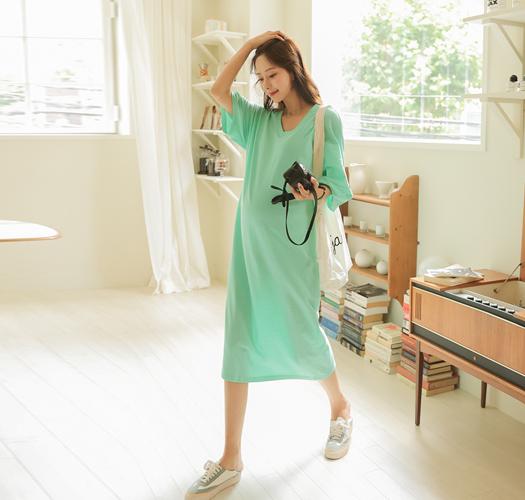 soim-[임부복*달콤집앞 임산부원피스]♡韓國孕婦裝連身裙