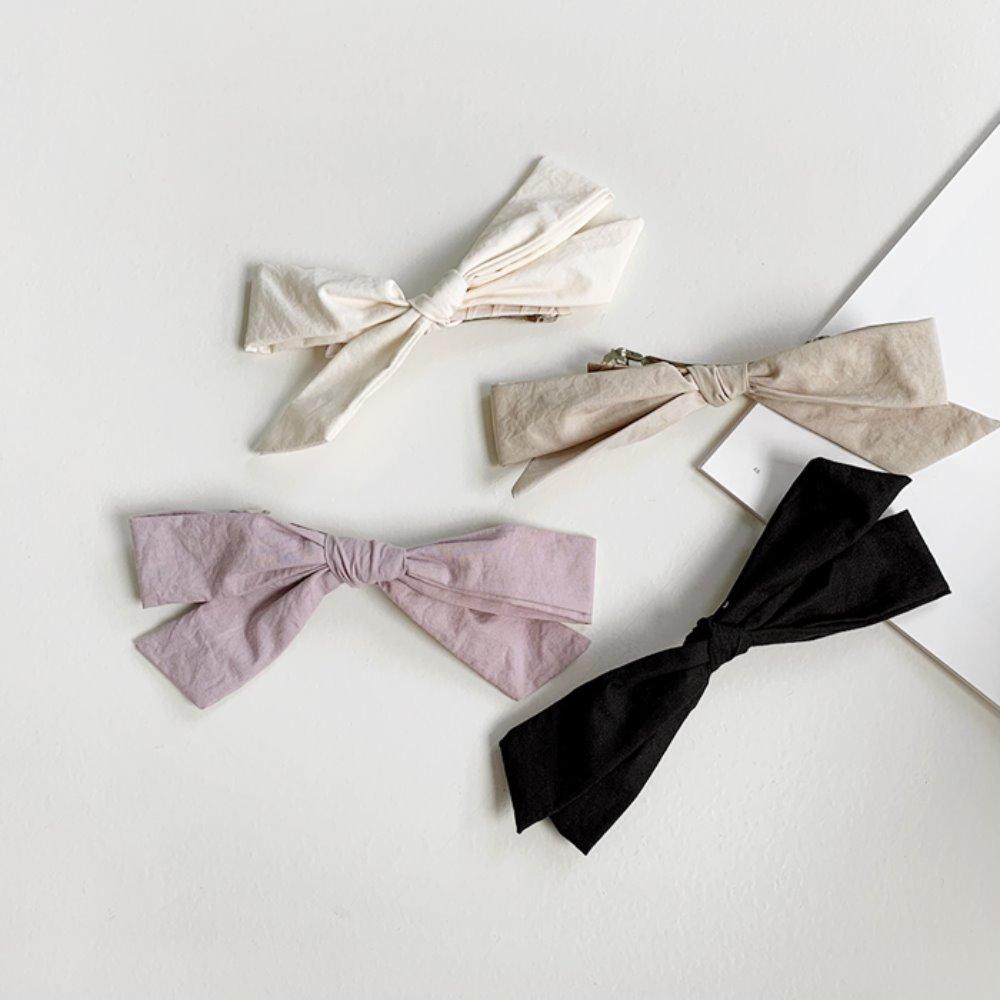 littleblack-비바 빅 리본 핀(4C)♡韓國女裝飾品