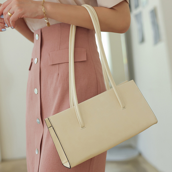 ode-[모던 스퀘어 프레임 숄더 백]♡韓國女裝袋