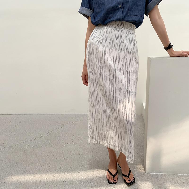 45th-프린트밴딩스커트 ♡韓國女裝裙