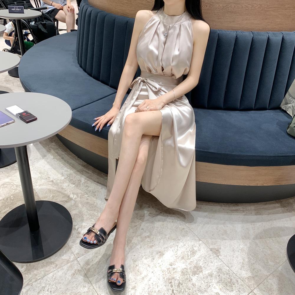 uinme-샤이닝 글로시 랩스커트 - [ 4color ] - 유인미샤이닝 글로시 랩스커트 - [ 4color ] - 유인미♡韓國女裝裙