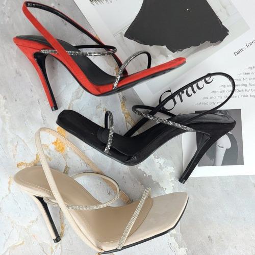 marlangrouge-끌라쥬보석스트랩힐♡韓國女裝鞋