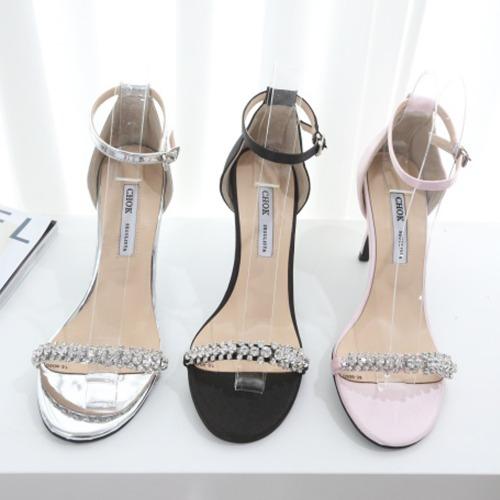 marlangrouge-샤이닝샌들힐♡韓國女裝鞋