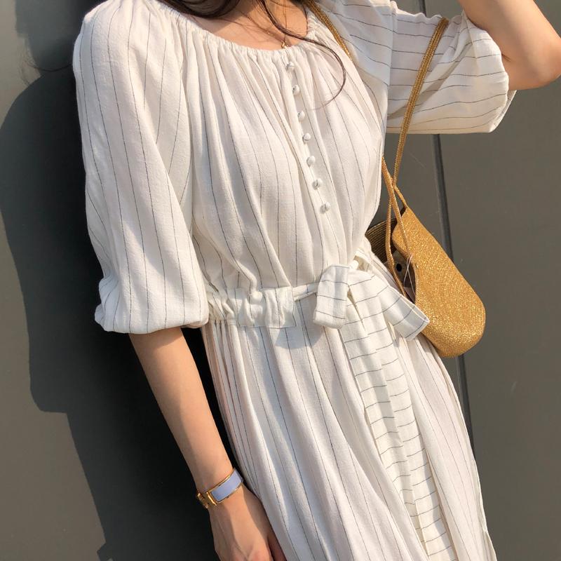 9-room-오픈즈 원피스 (2color)♡韓國女裝連身裙