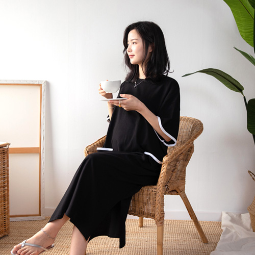 280days-♡韓國孕婦裝連身裙