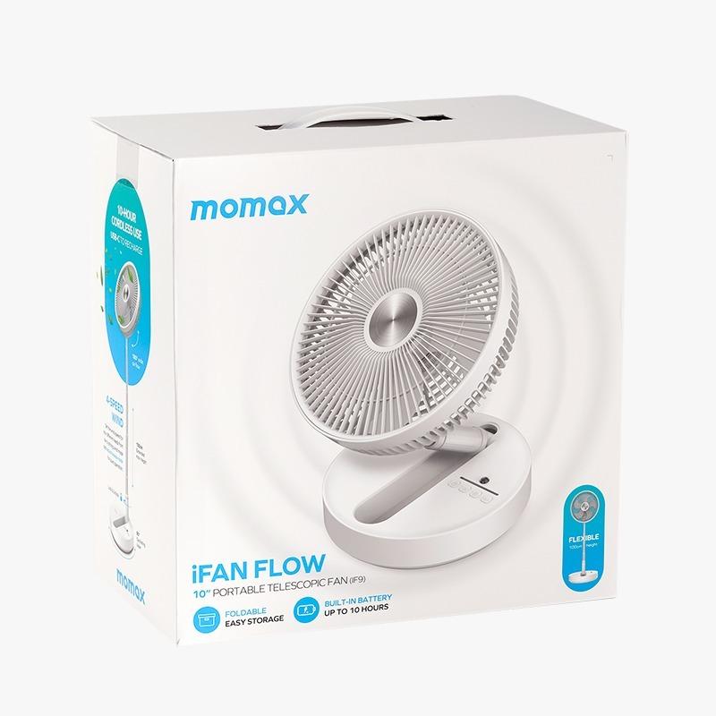 Momax iFan Flow 無線摺疊風扇 IF9