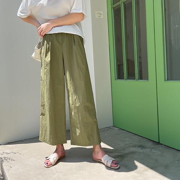 canmart-[바스락와이드팬츠 C072811]♡韓國女裝褲