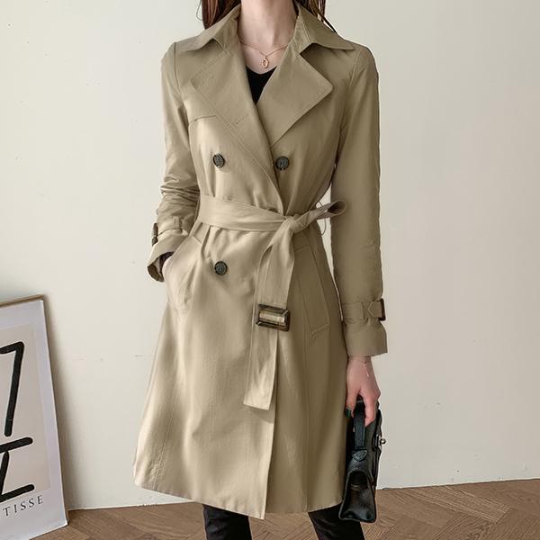 canmart-[벨유_카일라트렌치자켓 MA03042]♡韓國女裝外套