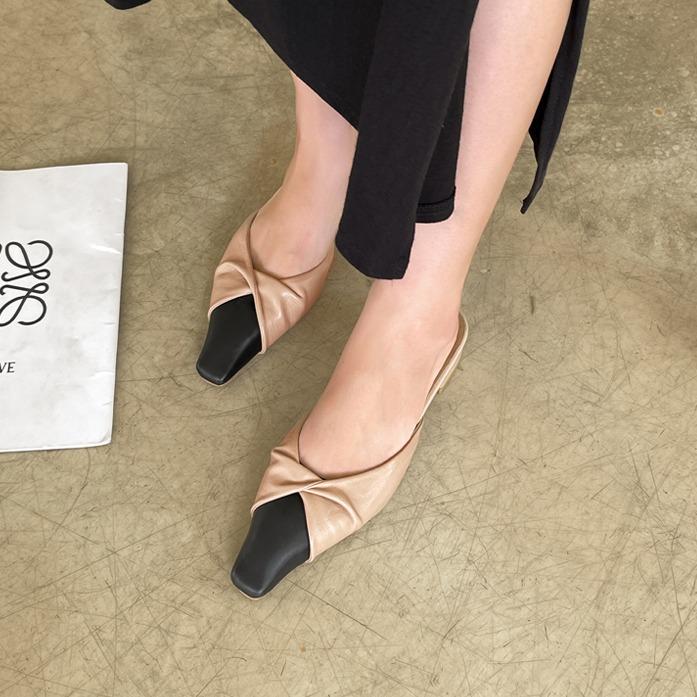 dabagirl-브랜디슈(CR0413)_D3SH 데이트룩 여친룩 데일리룩 30대여성쇼핑몰 20대여자쇼핑몰 키작은여자쇼핑몰 여성의류쇼핑몰 포인트룩 베이지 블랙 여성슈즈 신발 단화 샌달 플랫♡韓國女裝鞋