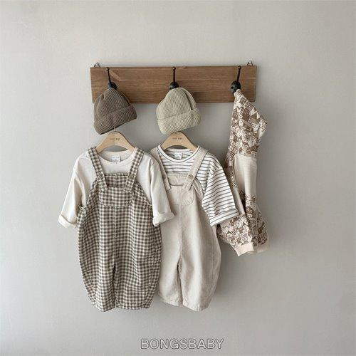 bongsbaby-고르뎅 멜빵♡嬰兒褲子