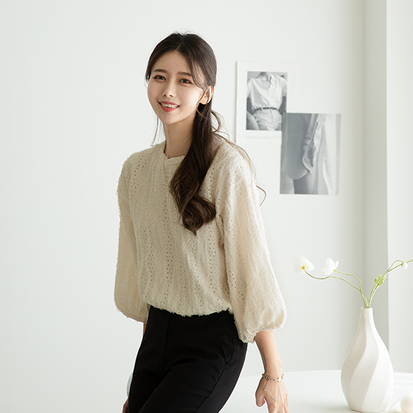 canmart-[블랑레이스블라우스 C080956]♡韓國女裝上衣