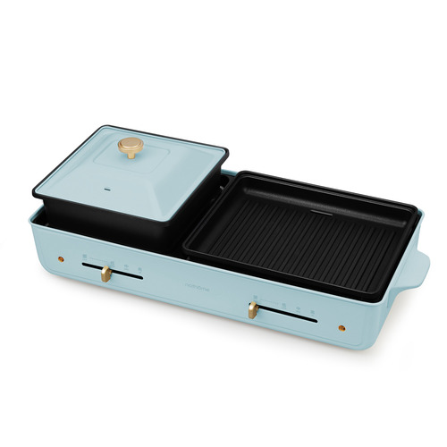 Nathome 涮烤一體燒烤爐 NKS20 水藍色