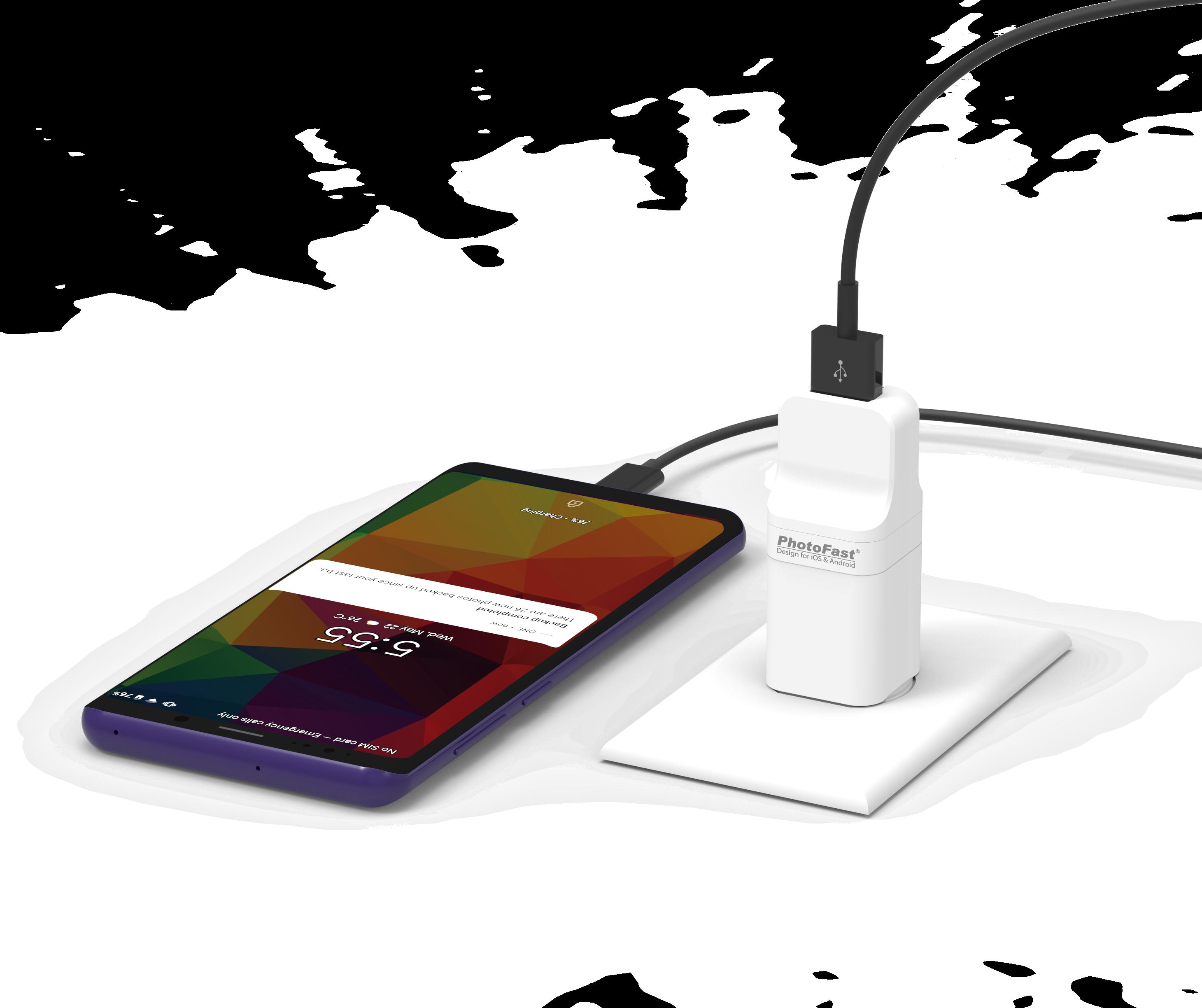 Photofast PhotoCube Pro備份方塊 (iOS/Android通用版)