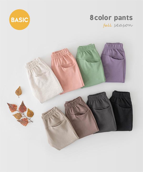 harukids-원데이배기팬츠[팬츠BDG668]♡韓國童裝褲