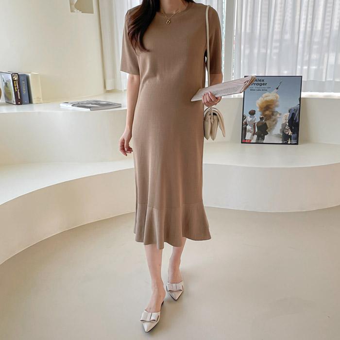 momnuri-임부복*디에나 니트원피스 ♡韓國孕婦裝連身裙