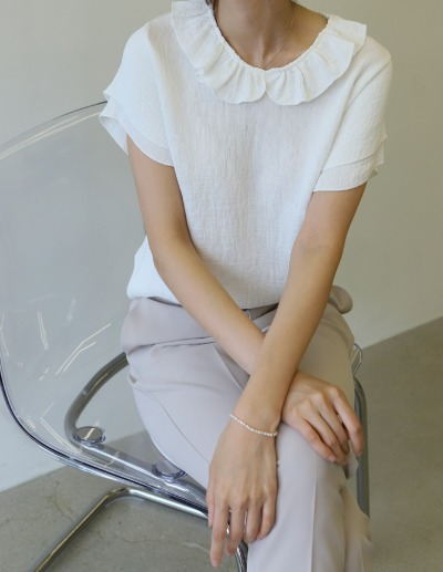 indibrand-하멜 블라우스 (ver. 2)♡韓國女裝上衣