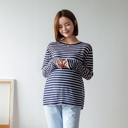 280days-[시스루단가라니트]임부복 2 8 0 DAYS - 느낌있는 임부복쇼핑몰♡韓國孕婦裝上衣