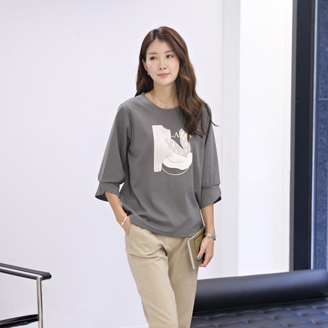 tiramisu-8598빈스소매칠부티♡韓國女裝上衣