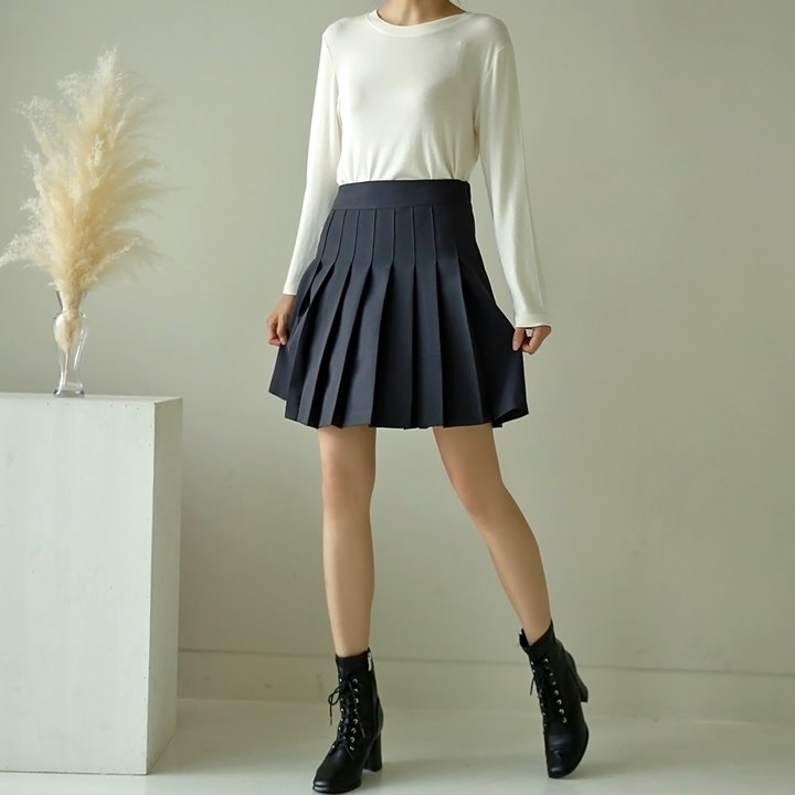 lemite-심플테니스 치마바지(골프웨어가능,주문대폭주)♡韓國女裝褲