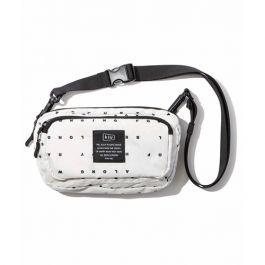 W.P.C.  - 【K156-204】Typography OF - Kiu系列300D Front Pocket mini Shoulder Bag防潑水斜肩包/斜孭袋
