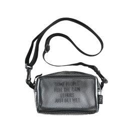 W.P.C. - 【K103-908】日本KiU防撥水透明網紋斜背包