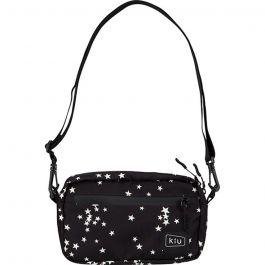 W.P.C. - 【K68-059】星塵圖案 - 日本Kiu系列防撥水雙拉鍊斜背包/斜孭袋