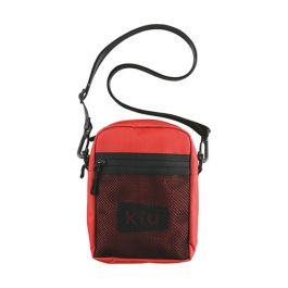 W.P.C. - 【K108-916】紅色 - 日本Kiu系列600D耐用防撥水拉鍊潮流斜孭袋