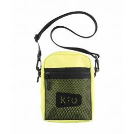 W.P.C. - 【K108-918】淡黃色 - 日本Kiu系列600D耐用防撥水拉鍊潮流斜孭袋