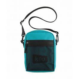 W.P.C. - 【K108-917】綠松色 - 日本Kiu系列600D耐用防撥水拉鍊潮流斜孭袋