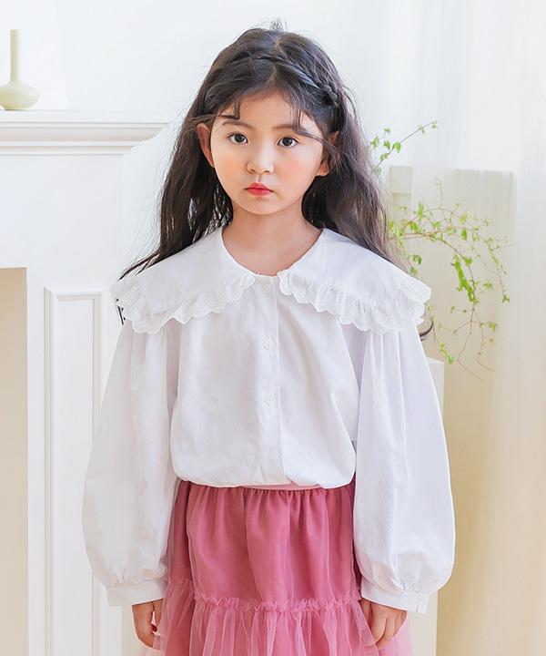 harukids-비비세일러블라우스[셔츠BDG741]♡韓國童裝上衣