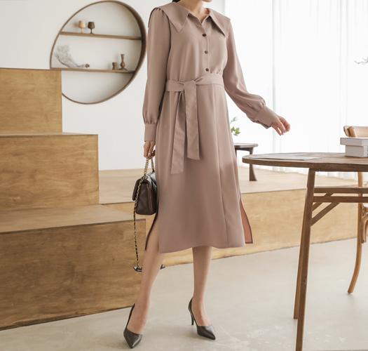 soim-[임부복*세련무드카라 임산부원피스]♡韓國孕婦裝連身裙