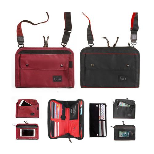 杜如風 FUNGOLIA GEN 2 護照卡套/旅行收納單肩包/大尺寸 [2 色]
