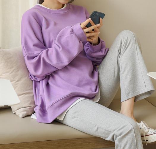 soim-[임부복*오버핏 박스맨투맨]♡韓國孕婦裝上衣