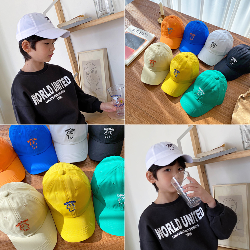 little-bro-디디큐트캡[모자BDA472]♡童裝帽