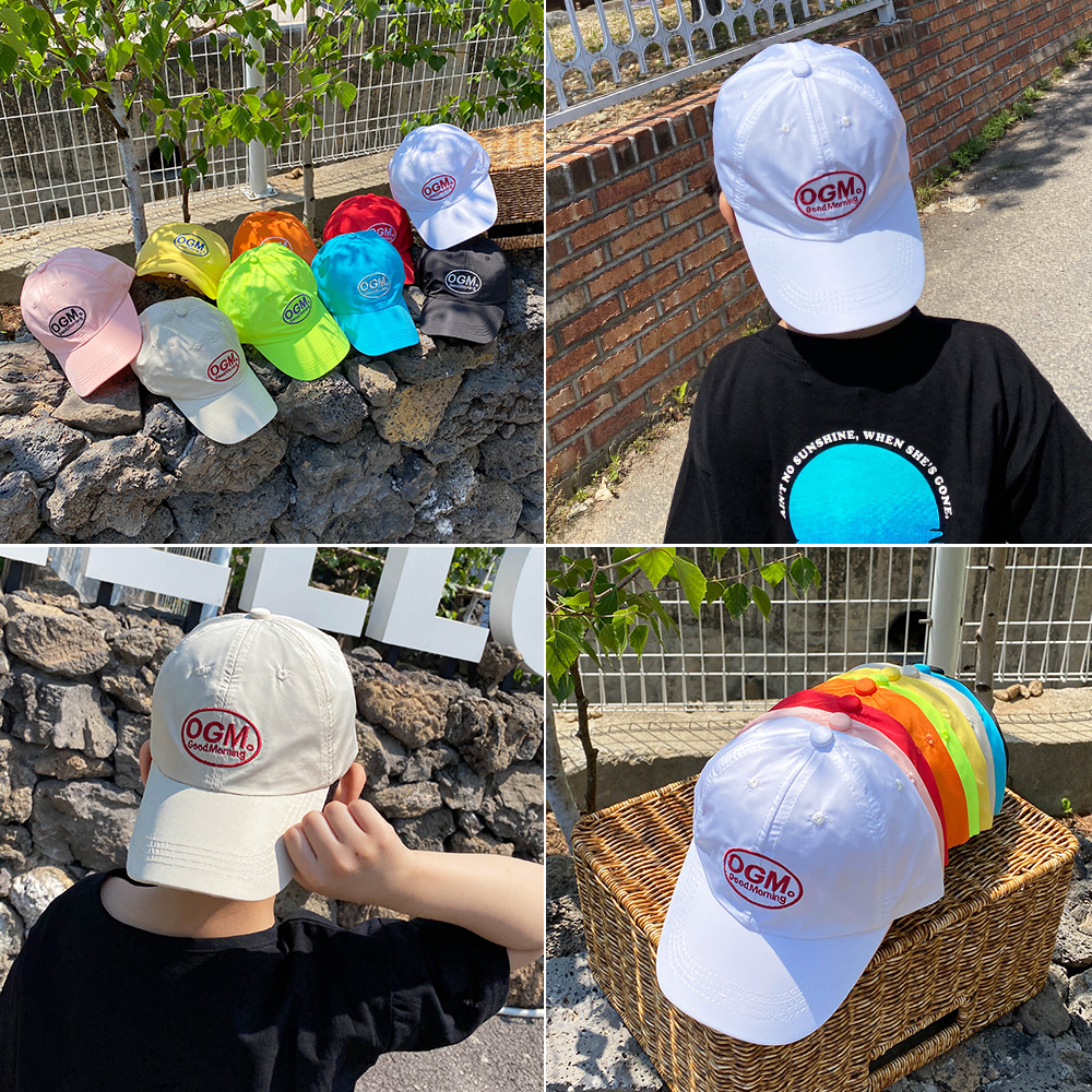 little-bro-오지엠자수캡[모자BDEG30]♡童裝帽