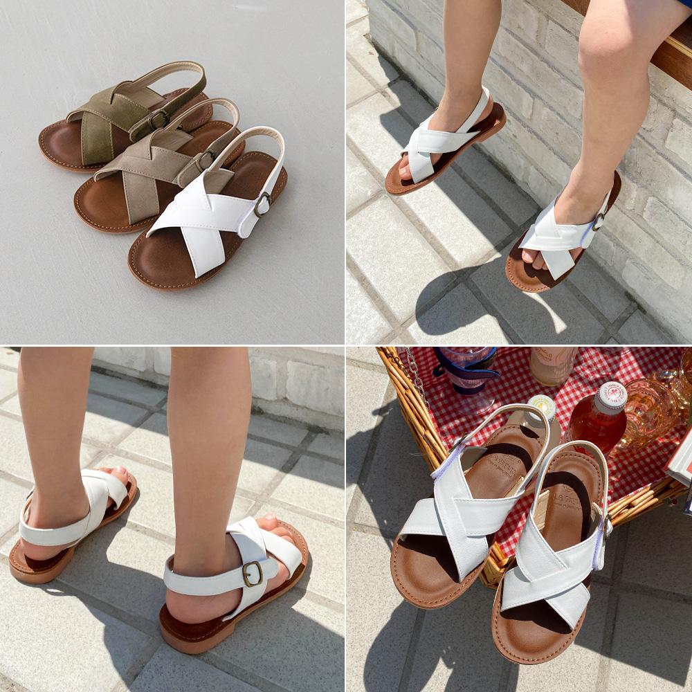little-bro-크로시샌들[신발BDDP32]♡韓國童裝鞋