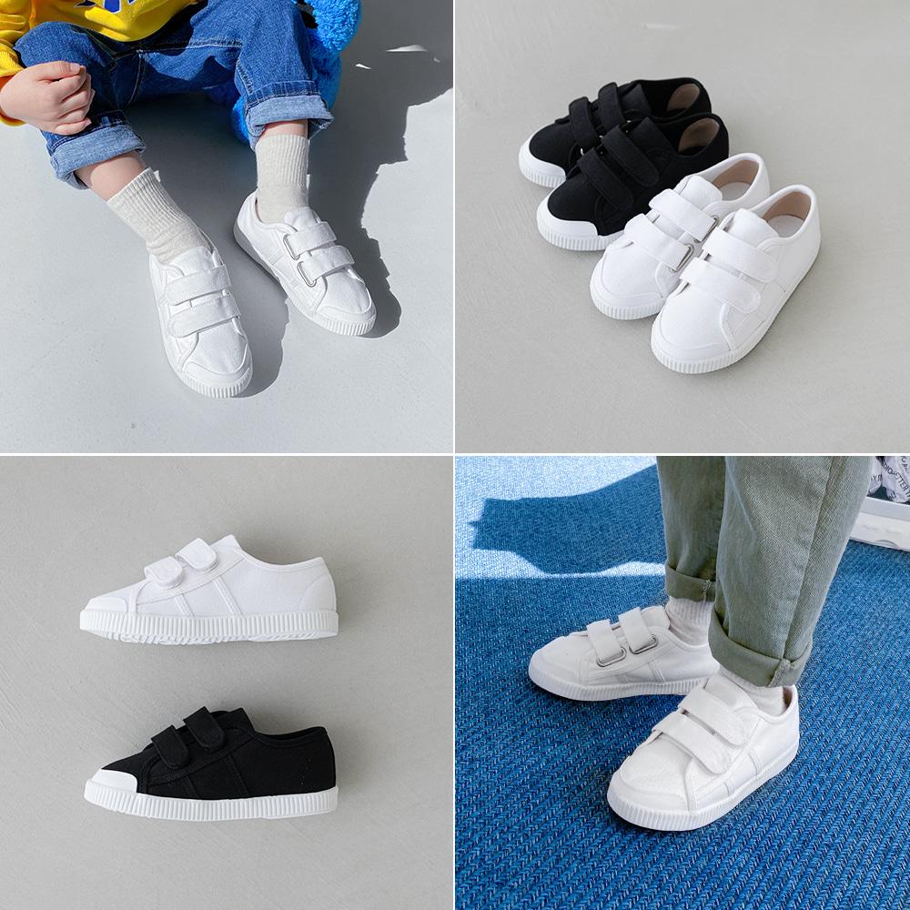 little-bro-벨크로심플스니커즈[신발BDBS69]♡韓國童裝鞋