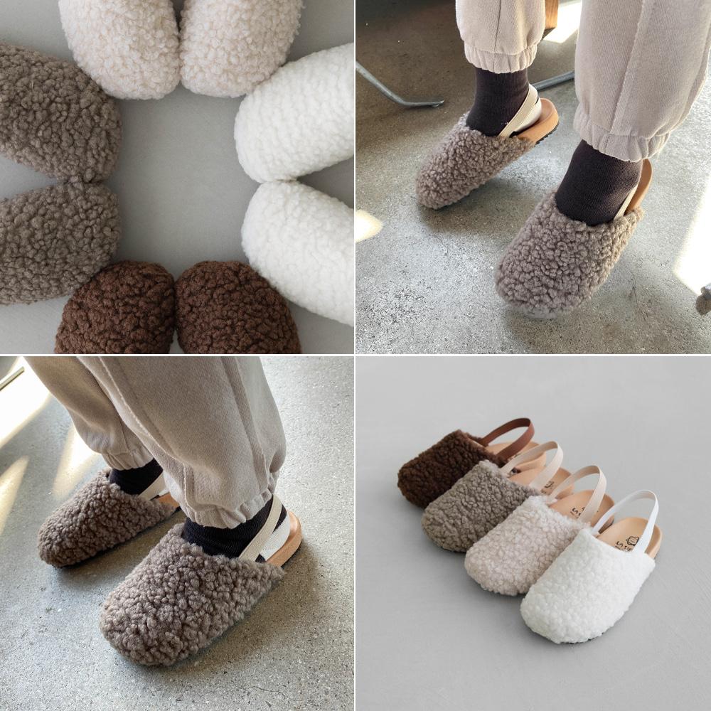 little-bro-뽀글뽀글뮬[신발BCB594]♡韓國童裝鞋