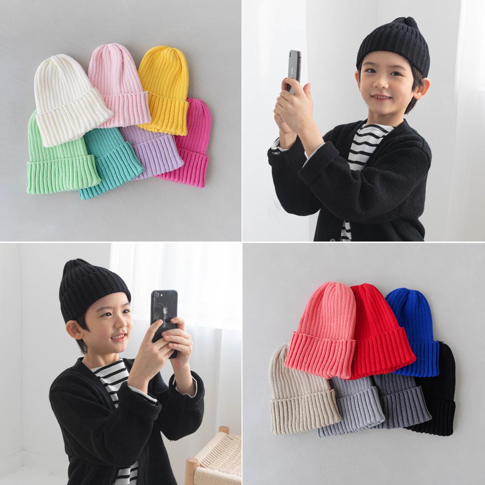 little-bro-마이쭈컬러비니[모자BBS557]♡童裝帽