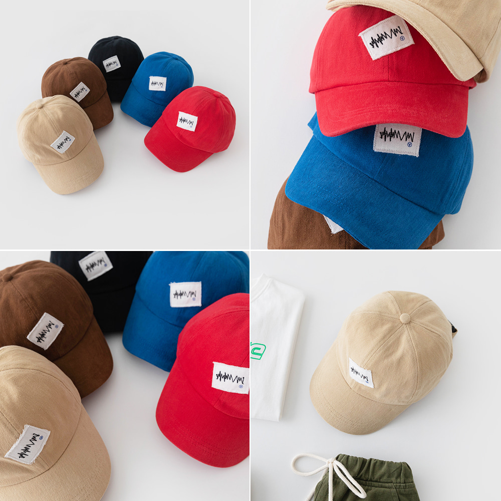 little-bro-하트비트볼캡[모자BDG532]♡童裝帽