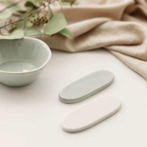 ssueim-森林勺架(白色/霧綠)♡韓國家品儲存器皿