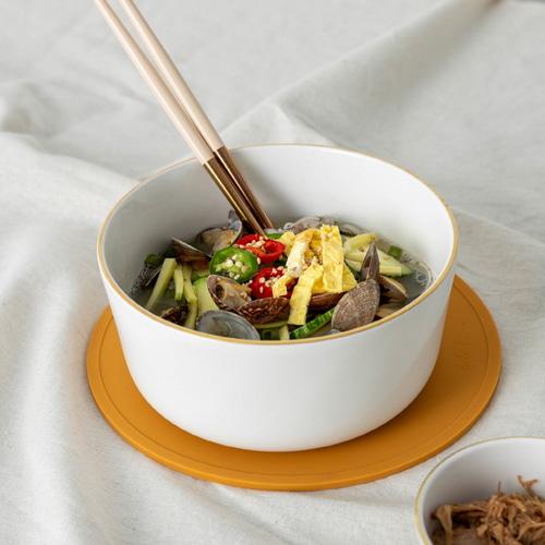 ssueim-黃金圈麵碗套裝(麵碗1P+筷子1P)♡韓國家品碗具