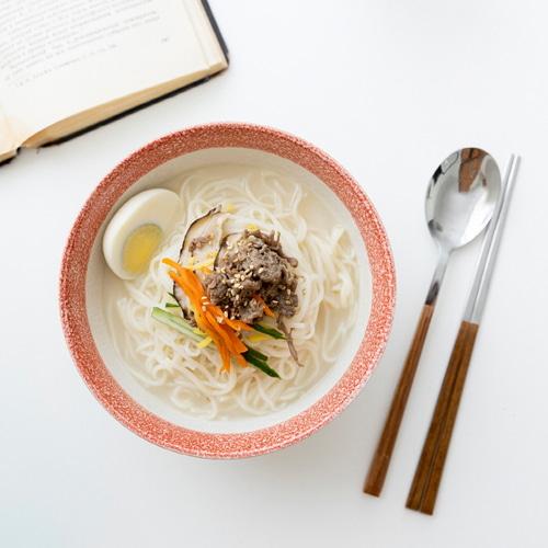 ssueim-麵碗(紅色/米黃色)♡韓國家品碗具