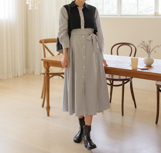 soim-[임부복*프랜치맥시 임산부원피스]♡韓國孕婦裝連身裙
