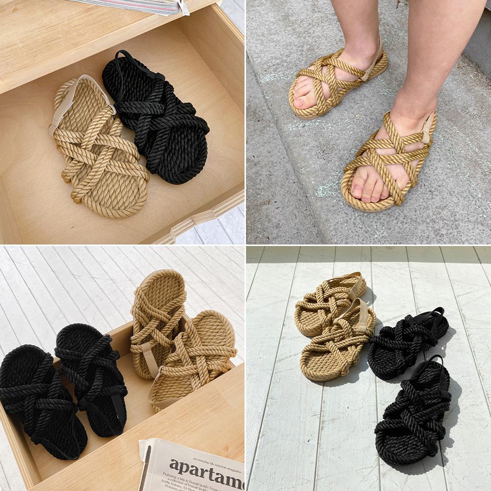 little-bro-로프스트랩샌들[신발BDDP34]♡韓國童裝鞋