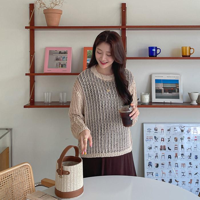 momnuri-임부복*레이지 니트 ♡韓國孕婦裝上衣