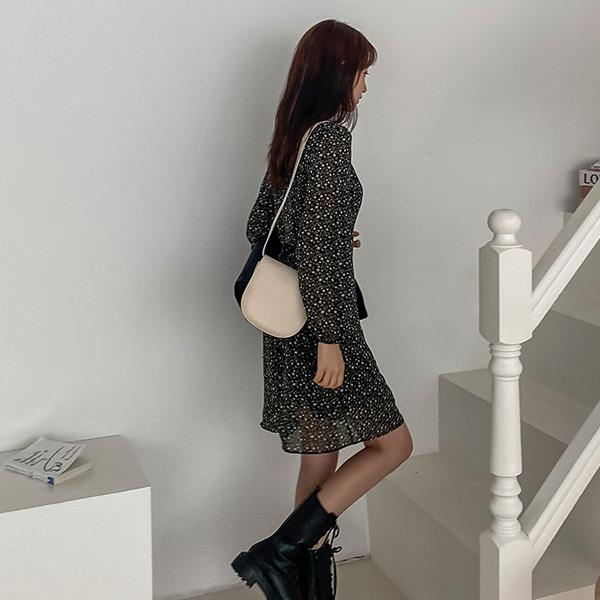 realcoco-♥NEW10%할인♥REALMADE엘프 쉬폰 플라워 미니원피스(데이트룩/가을)♡韓國女裝連身裙