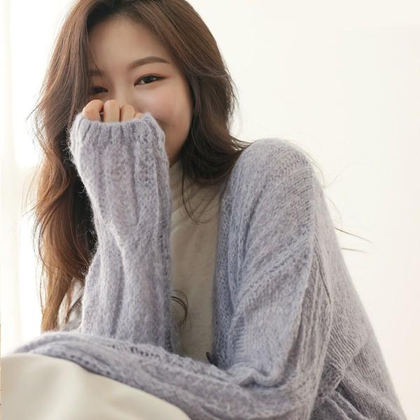 ode-[포근포근 솜사탕 울 가디건]♡韓國女裝外套
