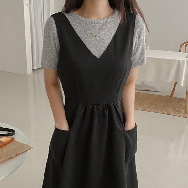 realcoco-♥NEW10%할인♥니어 라운드 반팔니트(울/반팔/가을)♡韓國女裝上衣